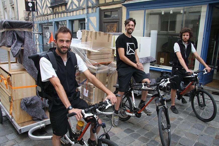 Le déménagement à vélo, c'est possible !