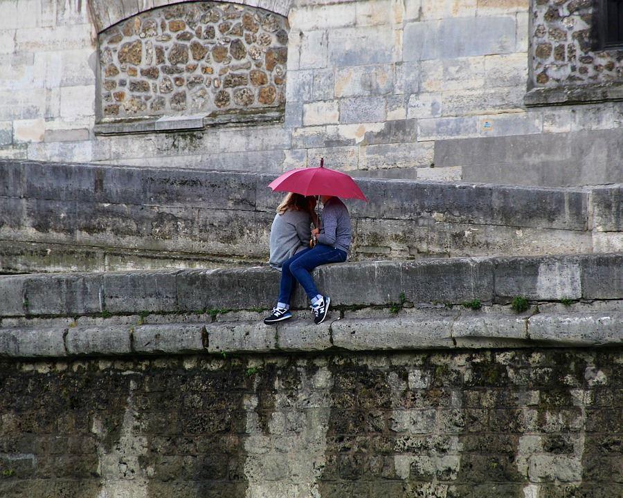 journée de pluie à Paris
