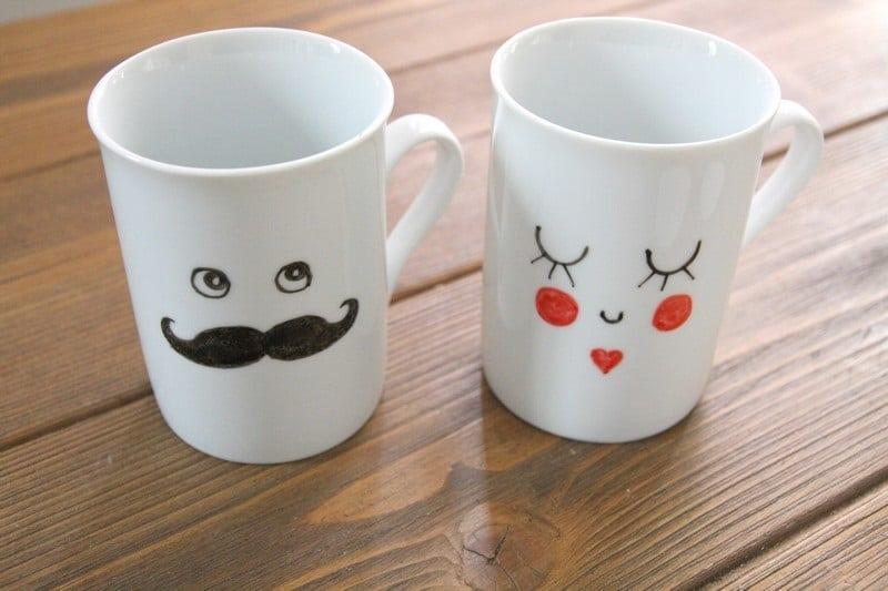 Comment décorer un mug en porcelaine