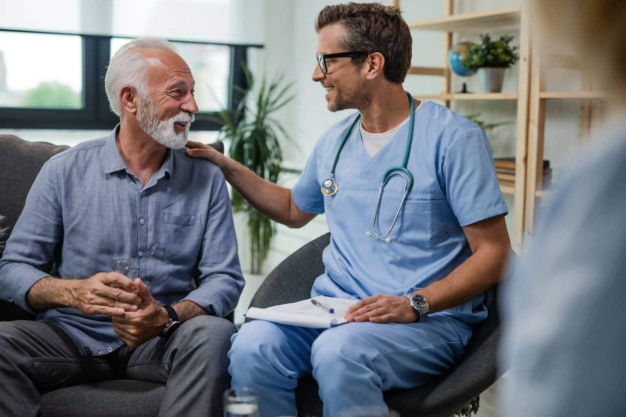 Hébergement temporaire médicalisé pour senior